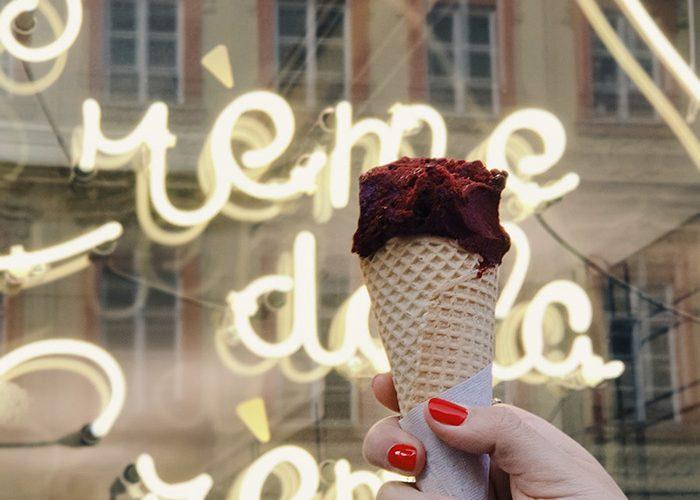 Social Media Content Ice cream